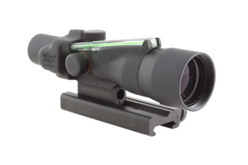 Trijicon Acog 3X30 Scope, Dual Illuminated Horseshoe/Dot, Green