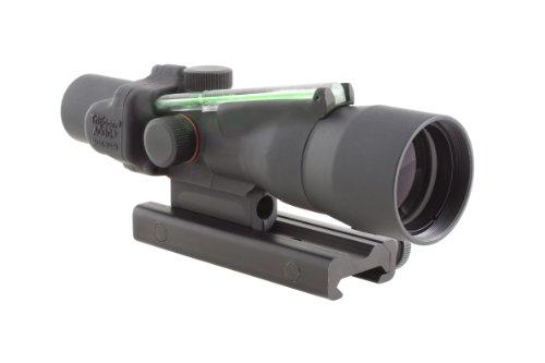 Trijicon Acog 3X30 Scope, Dual Illuminated Horseshoe/Dot, Green