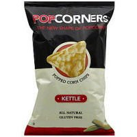 Popcorners Kettle Popcorn Chips, 5 Ounce -- 12 per case.