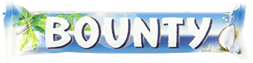 Bounty Chocolate Bar 57g, 24-Count