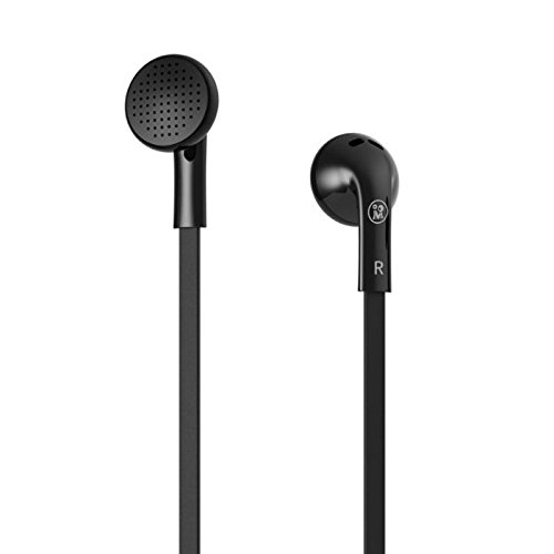 Premium Sound Quality Earbud With Mic For Your Iphone / Samsung / Htc / Sony (M100(Black))
