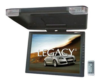 Legacy LMR15.1 High Resolution TFT Roof Mount Monitor with IR Transmitter and Wireless Remote Control