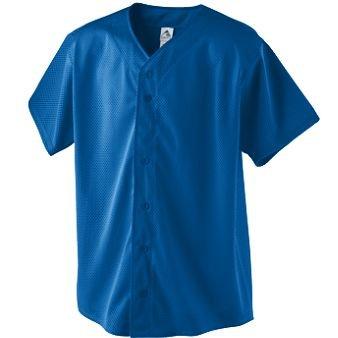 Augusta Sportswear Pro-Mesh Button Front Baseball Jersey 488