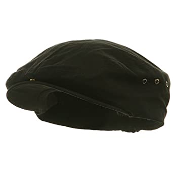Washed Canvas Ivy Cap BLACK One Size