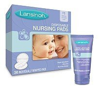 Lansinoh Ultra Soft Disposable Nursing Pads And Hpa Lanolin By Lansinoh