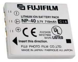 Fujifilm 11056 Accessoire pour appareil photo Batterie rechargeable NP-40 Lithium Ion Pour Z2 / V10 / F470