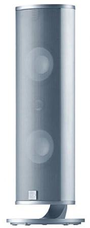 Canton CD 250 Enceinte centrale 2,5 voies 70/130 Watts, 87 dB Paire Aluminium/argent (Import Allemagne)