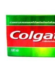 2X 180 G. Colgate Salt Herbal Plus Fluoride Reduce Plaque Anti-Caries Toothpaste Made In Thailand