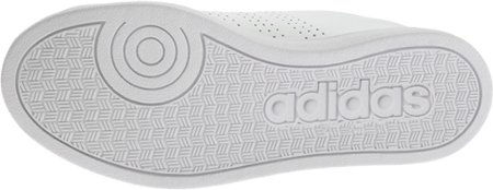 Adidas NEO Women's Advantage Clean VS W Casual Sneaker,White/White/Black,10 M US