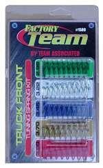 Team Associated 1580 Truck Front Suspension Spring Tuning Kit