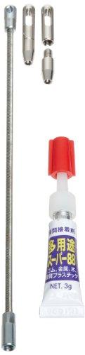 Morris Products 52258 Fiberglass Fishtape, Fiberglass Repair Kit (Glue, 2 Eyelets, 1 Leader) Size