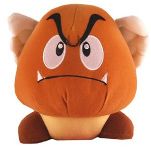 Picture of Popco Super Mario Brothers 10 Inch Paragoomba Plush Figure (B0058EVK8E) (Popco Action Figures)