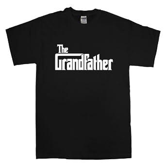 The Grandfather t-shirt - S - Black/white print