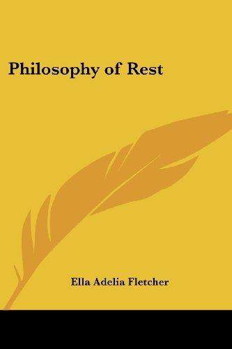 Philosophy of Rest
