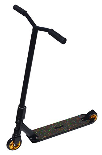 Royal Knight Freestyle Stunt Scooter, Black/Gold (Pro Scooters Bars compare prices)