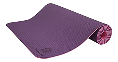 Yoga Mat, Tpe, Eco Friendly, 6mm Thickness, Pro-length, 72in Long , Extra Thickness and Width for Better Comfort, Great Quality Yoga Mat At an Affordable Price