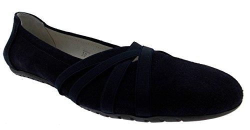 paperina ballerina elastichini camoscio blu art 2526 41 blu