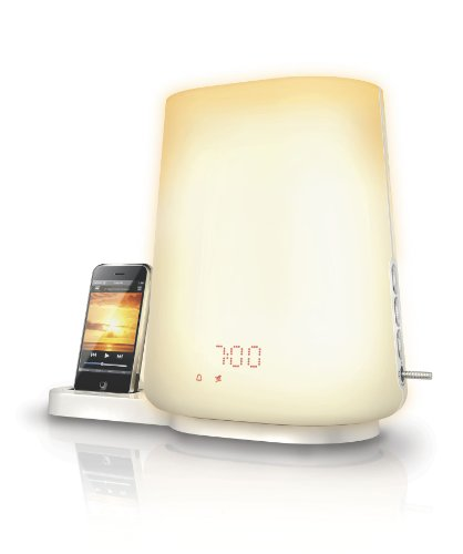 Philips HF3490/01 Wake-up Light Music inklusiv Dockingstation für iPod/iPhone