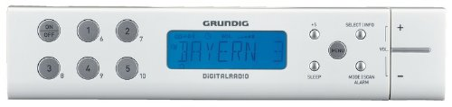 Grundig GKL0364 Radiosveglia da Cucina SC 691 DAB+, Bianco