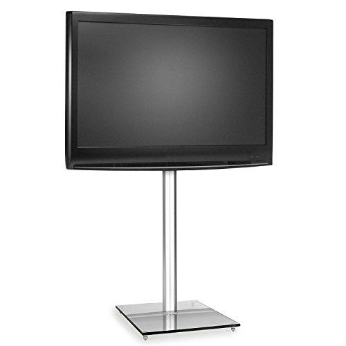 comparamus electronic star tv halterung st nder fernseherhalterung material glas aluminium. Black Bedroom Furniture Sets. Home Design Ideas