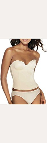 Dominique Molded Seamless Longline Style 8541, Nude, 34DD