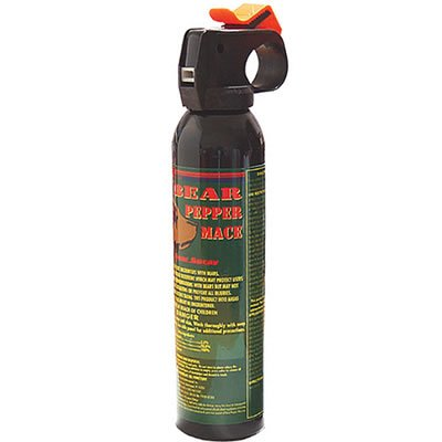 Mace Magnum Bear Spray Fogger Repellent 80346 with Nylon Holster