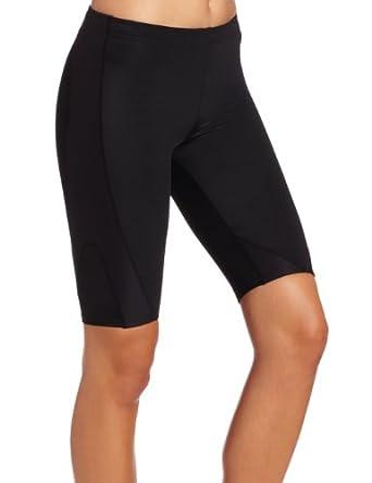 CW-X Ladies Black Expert Running Shorts by CW-X