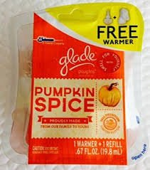 Glade Plugin Warmer With 1 Refill - Pumpkin Spice