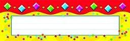Trend Enterprises Inc. Jazzy Gems Desk Topper Name Plates by Trend