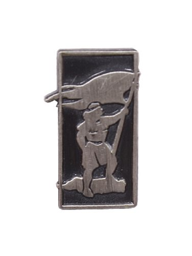 LDS Mens Steel Captain Moroni Tie Tac / Tie Pin for Boys - LDS Tie Tac / LDS Tie Pin - 1/2