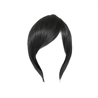 Dream2reality Cosplay_Kuroshitsuji(Black Butler)_Ciel&Tsukahara Kaname_slim face_35cm_black grey mix_Japanese kanekalon wigs