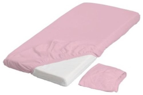 Len Pink Fitted Crib Sheets (2 Pack) 28 X 52 - 1