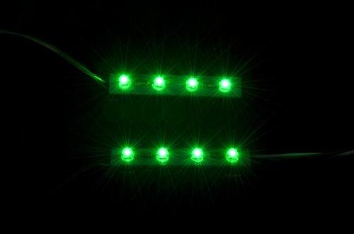 Xbox360 And 360 Slim Ghostcase - Led Kit - Green
