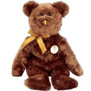TY Beanie Baby - CHAMPION the FIFA Bear ( Belgium ) - 1