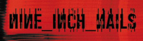 Licenses Products Nine Inch Nails Red Logo Sticker