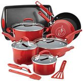 Rachael Ray Hard Enamel Non-Stick 14-Piece Cookware Set