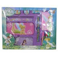Tinker Bell Stationery Set - Disney Fairies School Supplies 15 Piece Value Box