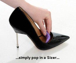 Shoe Sizing Insert Cushions