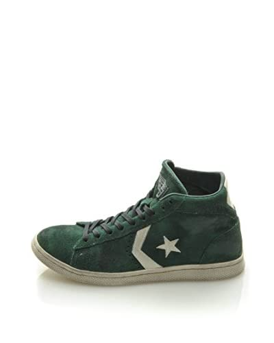 Converse Sneaker Pro Leather Mid Suede Ltd [Verde]