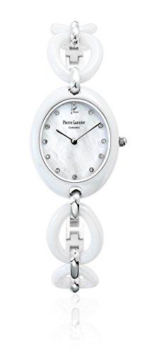 Pierre Lannier 024H990 - Reloj de pulsera mujer, cerámica, color blanco