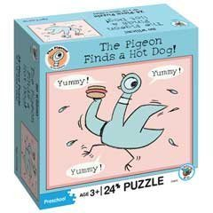 The Pigeon Finds a Hot Dog! Puzzle: 24 pc