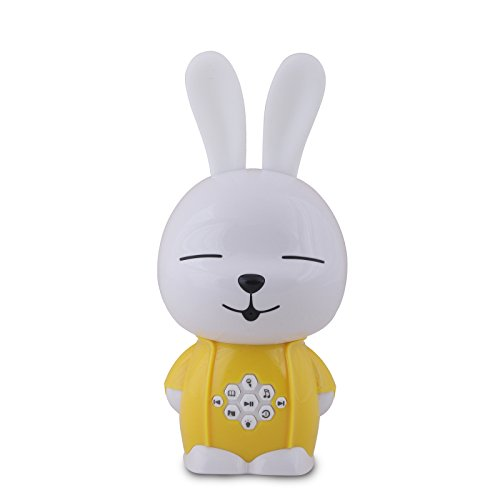 Alilo A2 Buddy Bunny 2GB Childrens MP3 Digital Player and Soothing Machine, Yellow