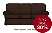 Charlotte Large Sofa - Leather
