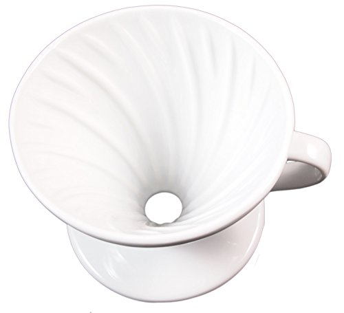 Pour-Over-Coffee-Maker-Pourover-Coffee-Dripper-White-Ceramic-Commercial-Quality-No-2-Filter-Size