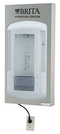 Haws 2000SMS Brita Hydration Station Touch-Free Surface-Mounted Hygienic Water Dispenser