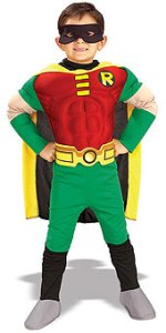 Deluxe Muscle Chest Robin Costume - Medium
