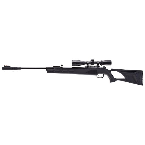 Umarex 2251304 Octane Air Rifle Combo with ReAxis Gas Piston, .22-Caliber, Black Finish (Air Rifle Silencer compare prices)