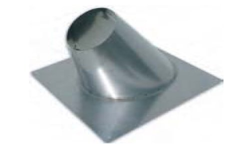 Noritz ARF3 Stainless Steel Angled Roof Flashing for 3-Inch Single Wall Venting