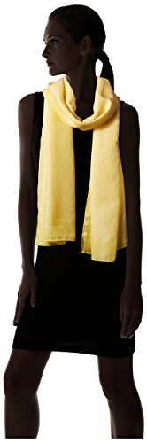 Salvatore-Ferragamo-Womens-Patterned-Scarf-Yellow
