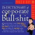The Dictionary of Corporate Bullshit Page-A-Day Calendar 2009 (Original Page a Day Calendars)